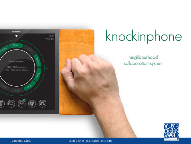 Toctofono or Knockin Phone Neighborhood Collaboration System