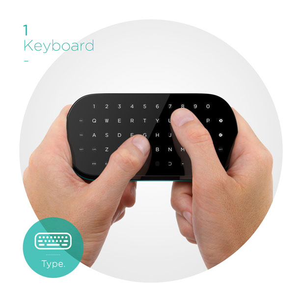Toggle Multimode Touch Remote Concept by Carbon Design Group
