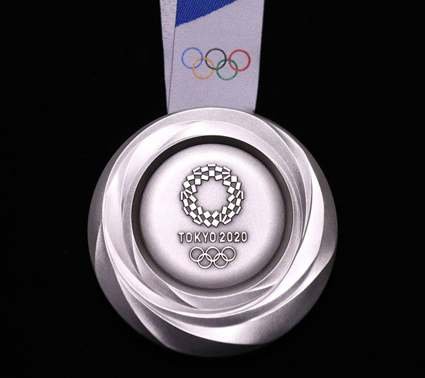 Tokyo 2020 Olympic Medals Made from Recycled Electronic Components