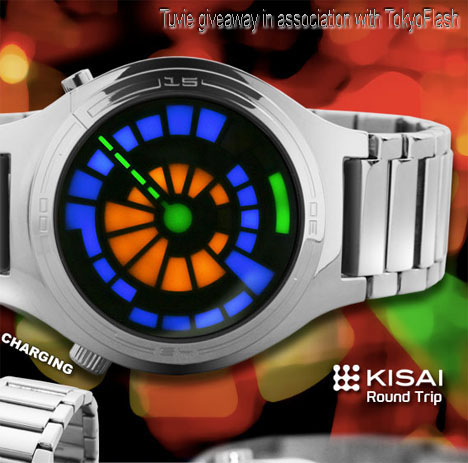 Win A TokyoFlash Futuristic Watch of Your Choice!