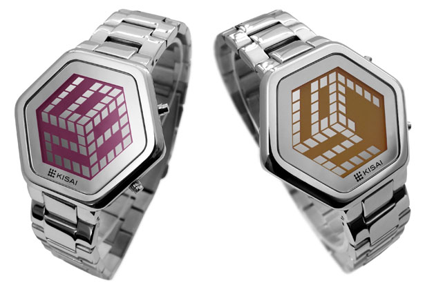 Limited Edition TokyoFlash Kisai 3D Unlimited LCD Watch