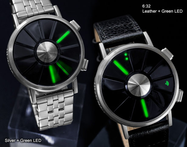 Tokyoflash Kisai Blade Turbine Style LED Watch by Peter Fletcher