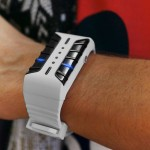 Tokyoflash Kisai Clone LED Watch with Alien Space Craft Animation