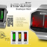 Tokyoflash Kisai Intoxicated LCD Watch Is Able to Test Your Blood Alcohol Content