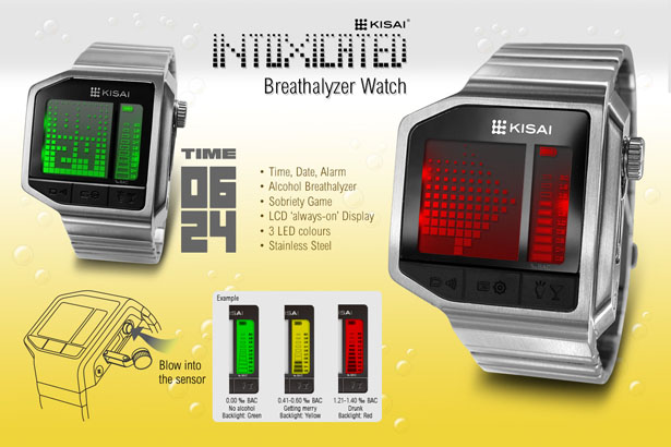 Tokyoflash Kisai Intoxicated LCD Watch Is Able to Test ...