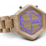 Tokyoflash Kisai Night Vision Wood LED Watch : Press The Button to Reveal the Magic