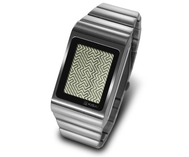 Tokyoflash Kisai Optical Illusion Touch Screen LCD Watch