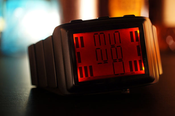 Tokyoflash Kisai Oto LCD Watch by Samuel Jerichow