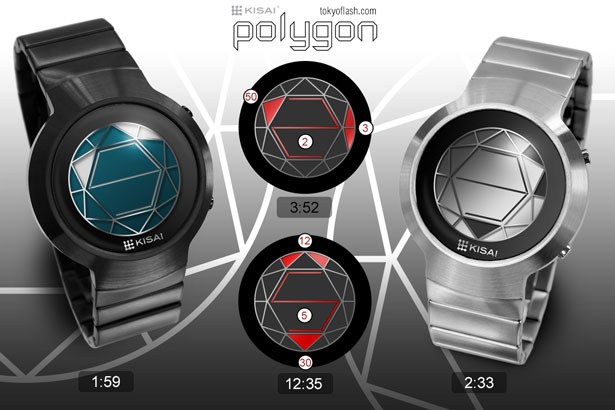 Tokyoflash Kisai Polygon LCD Watch