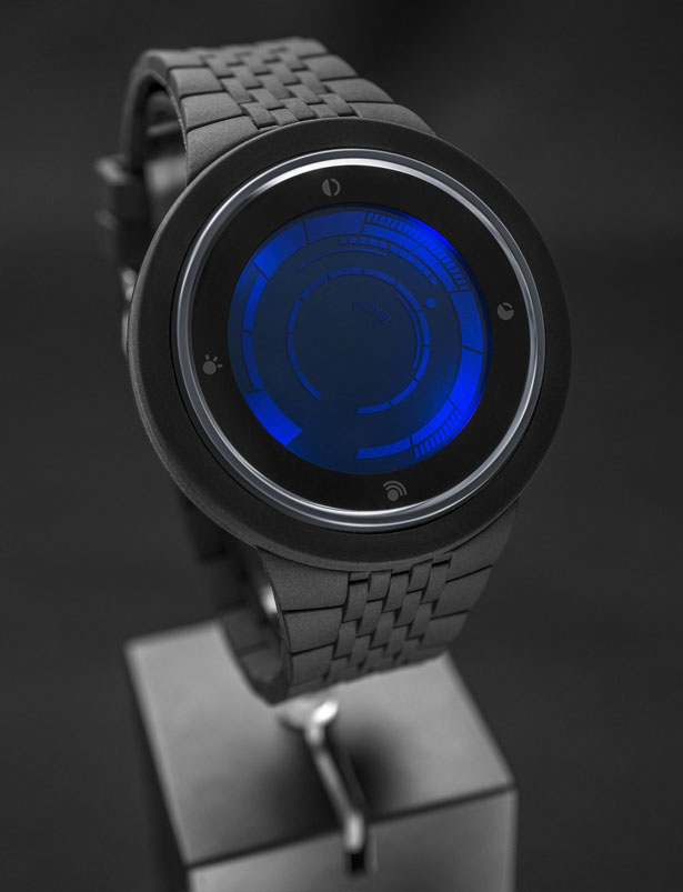 Tokyoflash Kisai Rogue Touch Silicone LCD Watch