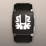 Tokyoflash Kisai Rorschach ePaper Watch Design Is Based on Rorschach Inkblot Test