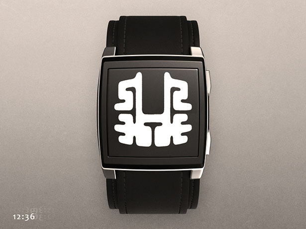 Tokyoflash Kisai Rorschach ePaper Watch