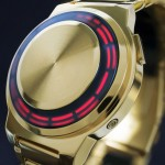Tokyoflash Kisai RPM Gold LED Watch by James Fursedon