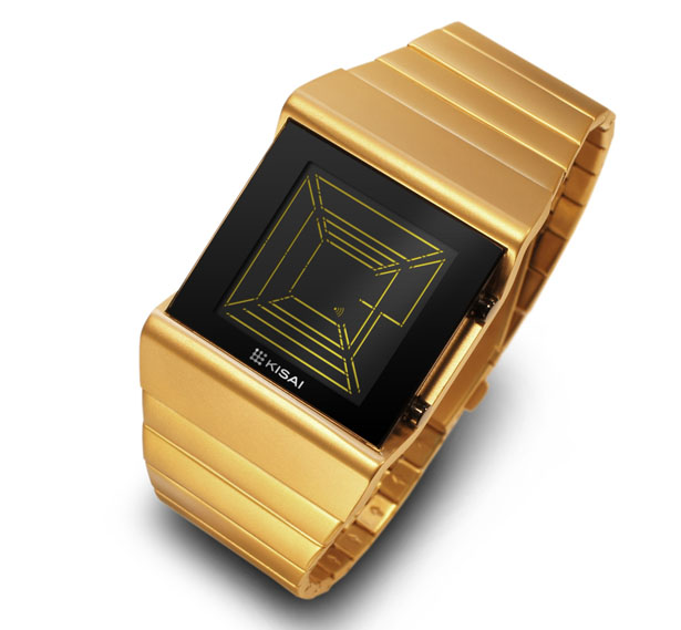 Tokyoflash Kisai Space Digits LCD Watch For Those Who Believe in Space Travel