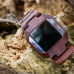 Gorgeous Tokyoflash Kisai Space Digits Wood Watch