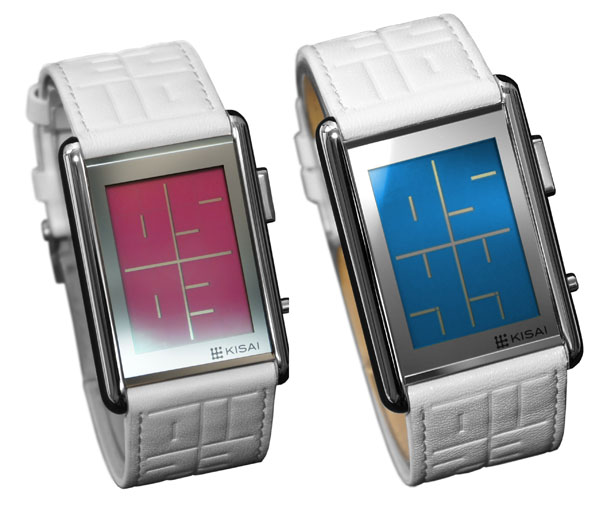 Tokyoflash Kisai Stencil LCD Watch
