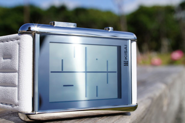 Tokyoflash Kisai Stencil LCD Watch by Heather Sable