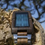 Tokyoflash Kisai Upload Wood LCD Watch with MicroSD Card to Keep Your Important Data