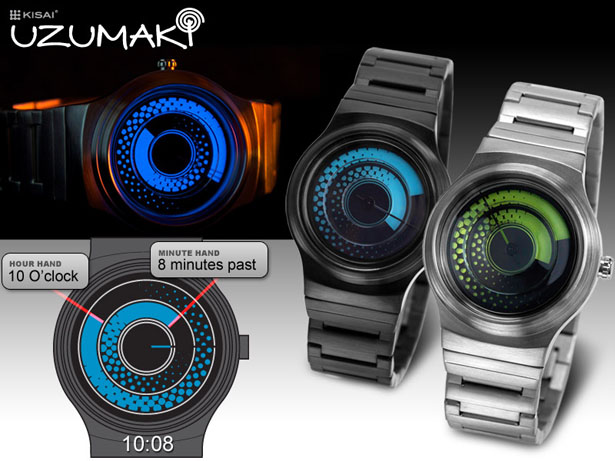 Tokyoflash Kizai Uzumaki Analog Watch by Firdaus Rohman