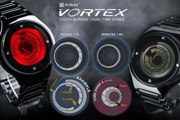 Tokyoflash Kisai Vortex LCD Watch