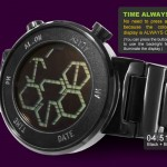 Tokyoflash Kisai Zone LCD Watch Uses Stylized Hexagons to Display Time