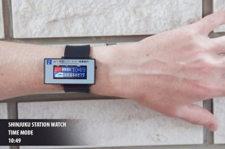 Tokyoflash Train Line LCD Watch for Rail Enthusiasts