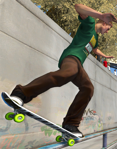 tony hawk game controller ride