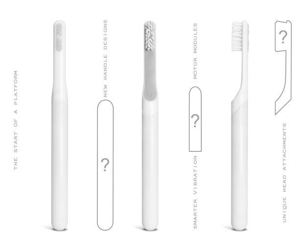 Toothbrush byDefault by Simon Enever