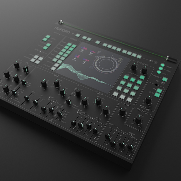 Aurora Synthesizer by Mohamad Montazeri - Top 20 A' Design Award Winners
