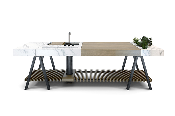 Banco Kitchen table by LA AGENCIA
