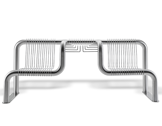Bench for BLM Group Outdoor Seating by Enrico Azzimonti