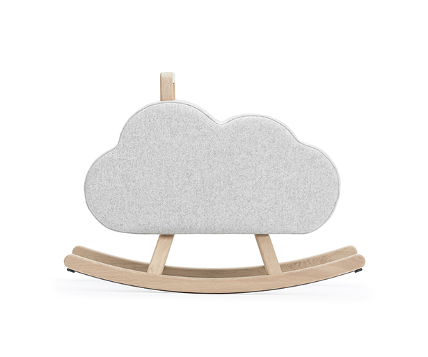 Iconic Cloud Rocking Chair by Pia Weinberg - Maison Deux