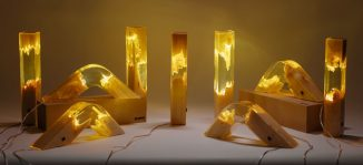 Torn Lamps Collection by Guideco Design