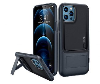TORRAS UPRO Series Case for iPhone 12 with Built-in Kickstand