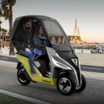 Torrot Velocípedo : All Electric Three-Wheeled Vehicle with Upper Dome