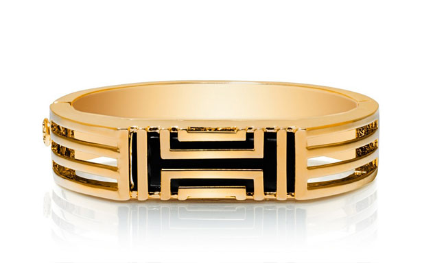 Tory Burch for Fitbit Metal Hinged Bracelet