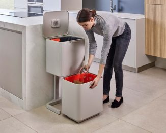 Joseph Joseph Totem Waste and Recycling Unit with Easy Removal Buckets