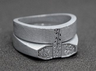 Totius Ring – Modern Handcrafted Men's Ring for Young Adults