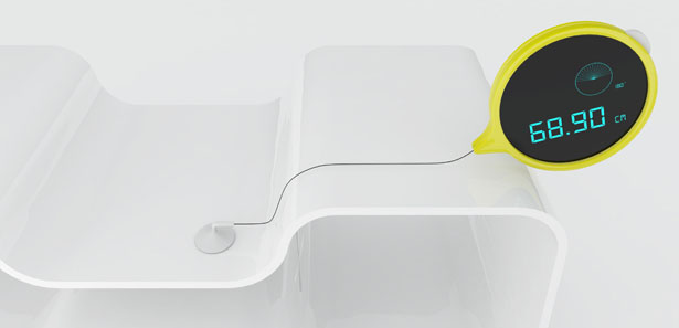 Touch Tape Measure Concept