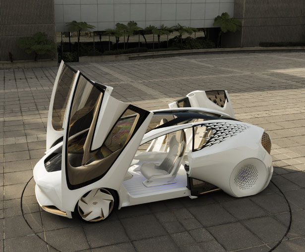 """Toyota Concept-i Futuristic Concept Car Features """"Yui"""" To Be Your Assistant"""