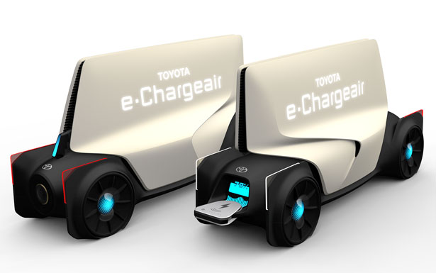 TOYOTA e-Chargeair Charging Station