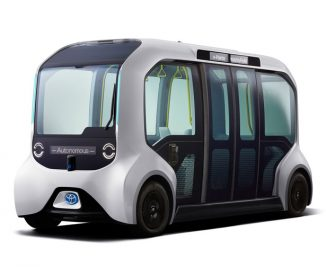 Toyota e-Palette Vehicles to Support Athletes of Olympic and Paralympic Games Tokyo 2020