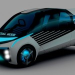 Futuristic Toyota FCV Plus Concept Car Uses Compressed Hydrogen as Its Power Source