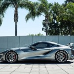 Toyota FT-1 Sports Car Concept with Graphite Exterior Paint