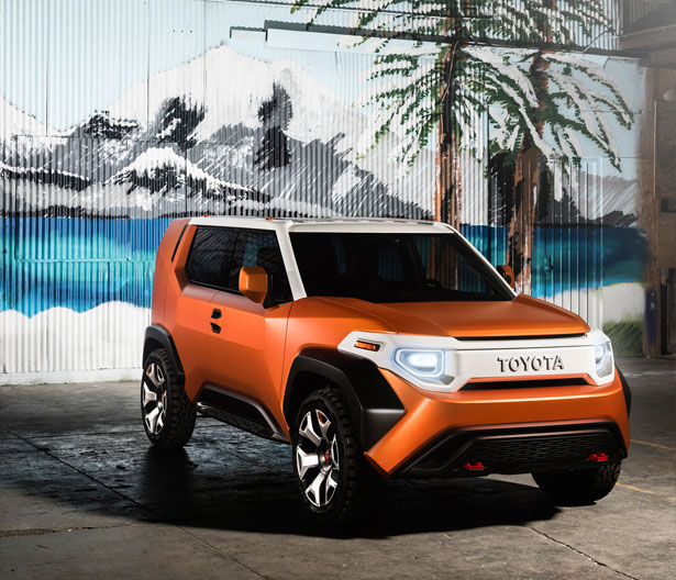 Toyota FT-4X Concept Crossover for Casualcore Outings