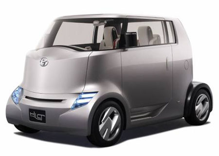 Hi-CT Hybrid Car Concept from Toyota