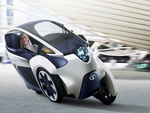 Toyota i-Road Personal Mobility Concept Features Great Maneuverability of A Motorcycle and The Comfort of A Car