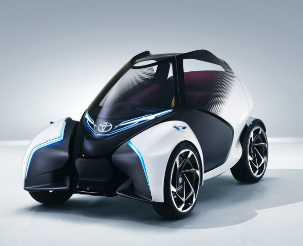 Toyota i-TRIL Concept Car for Urban Mobility in 2030