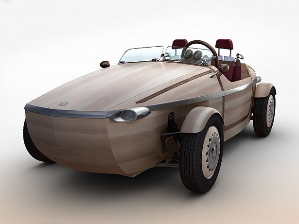Toyota Setsuna Concept Car Is Made Primarily of Wood