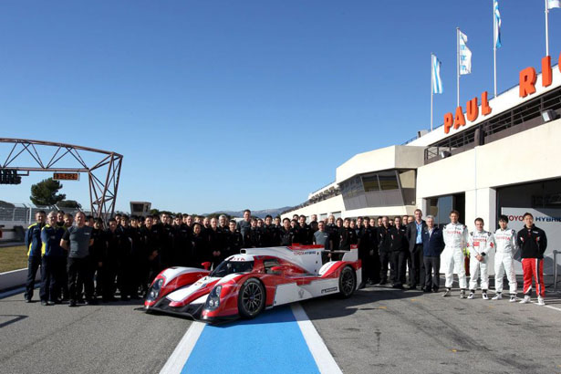 Toyota TS030 Hybrid 2012 for Le Mans Challenger